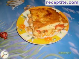 Moussaka with chicken
