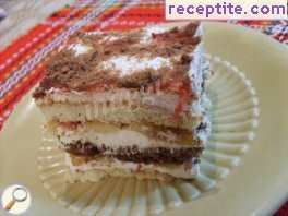Biscuit layered cake Anelia
