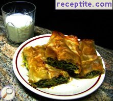 Spinach banitsa minute is very