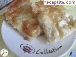 Sweet and savory banitsa