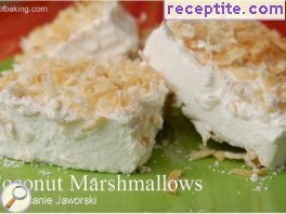 Marshmallow candies (Marshmallows) - Coconut