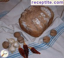 Wholemeal bread machine bread
