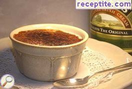 Creme brulee with Baileys