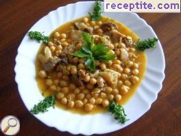 Hragma - veal shanks with chickpeas