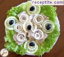 Pickled herring * To lick your fingers *
