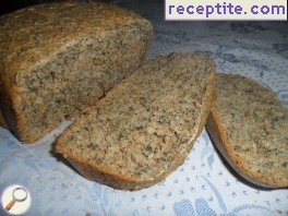 Bread with nettle