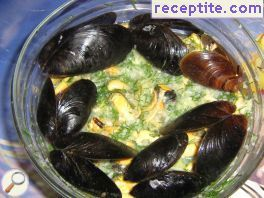 Salad of mussels