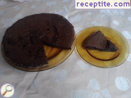 Chocolate Fudge in halogen oven