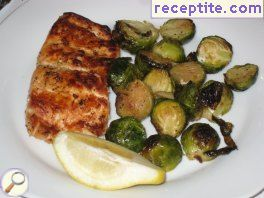 Roasted salmon with rosemary
