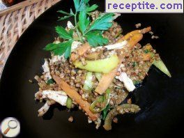 Spicy Chinese buckwheat