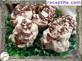 Snails with meringue
