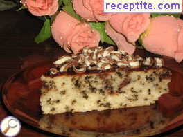 Coconut-chocolate cake Katerina