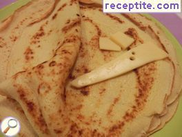 Blini with semolina