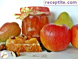 Jam apples and pears
