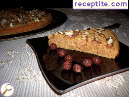French hazelnut cake