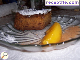 Corn sweet sponge cake Malay