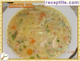 Chicken soup (prepared in multikukar)