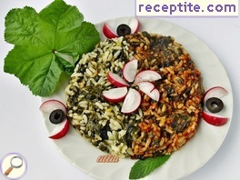 Go (Malva Silvestris) with rice