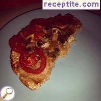 Wholemeal pizza Desi
