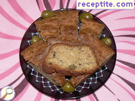 Savory sponge cake without white flour