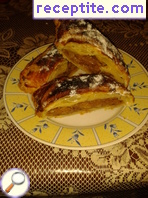 Apple strudel with puff pastry - II type