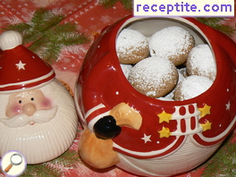 Old-fashioned Christmas cookies with spices