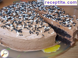 Chocolate layered cake * Stephanie *