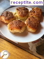 Buns with feta cheese - II type