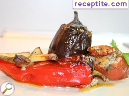 Stuffed vegetables Greek