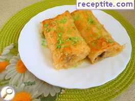 Baklava with starch