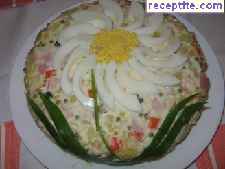 Russian salad at home