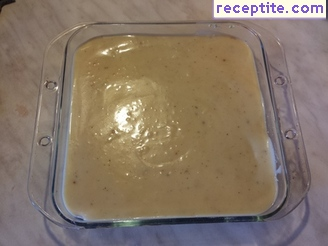 Bechamel sauce with yogurt