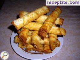 Fried cigar (banitsi)