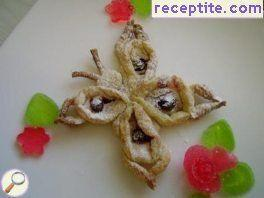 Butterflies puff pastry