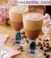 Ice mocha coffee