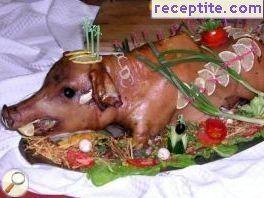 Roasted pig - III type