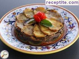 Thiel (vegetable layered cake)
