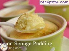 Lemon cream pudding