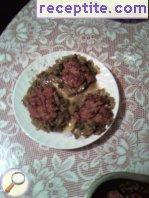 Chicken livers green nest