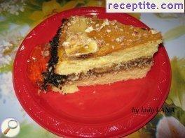Homemade banana layered cake Annie
