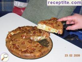 Magic Pizza (cake with stuffing)