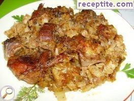 Pork with sauerkraut - I type
