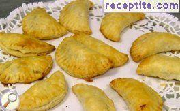 Empanada with potatoes and veal