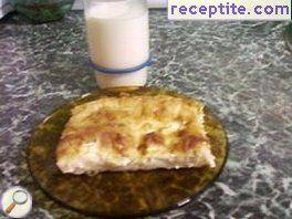 Banitsa with mayonnaise - II type