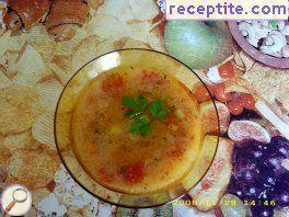 Potato-carrot soup