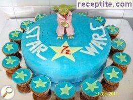 Layered cake Star Wars 1