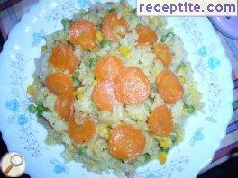 Rice with vegetables - III type