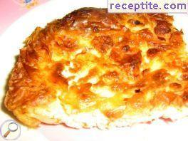 Banitsa with renneted milk