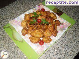 Potato Stick paste fillet fritters