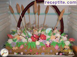 Layered cake basket - II type
